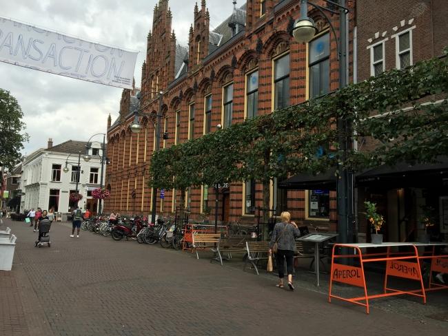 Het centrum van Arnhem