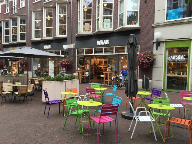 'Waar' in het Musiskwartier in Arnhem