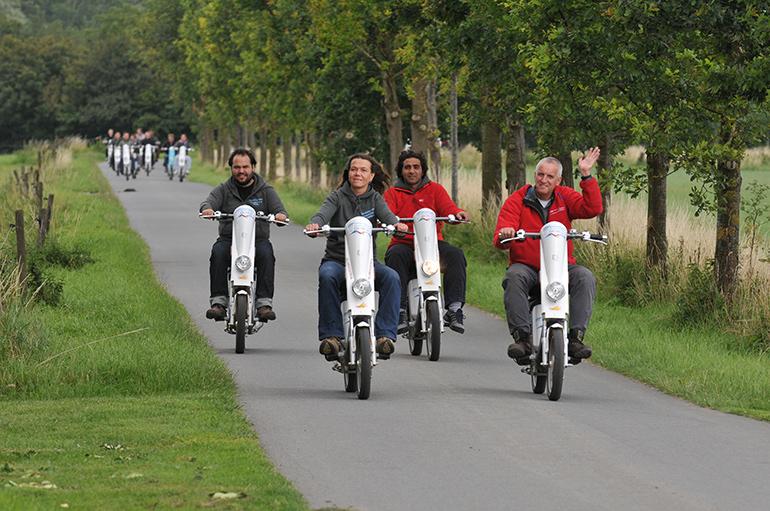 Op de Veluwescooter de Veluwezoom verkennen