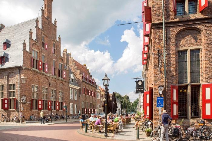 Het historische centrum van Hanzestad Doesburg
