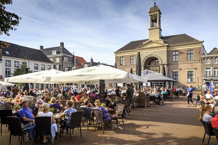 Het centrum van Hanzestad Harderwijk