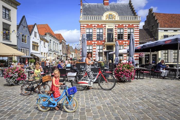 De binnenstad van Hanzestad Hattem